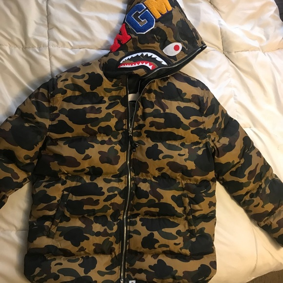 22760921e6e6 Bape Other - BAPE PUFFER JACKET